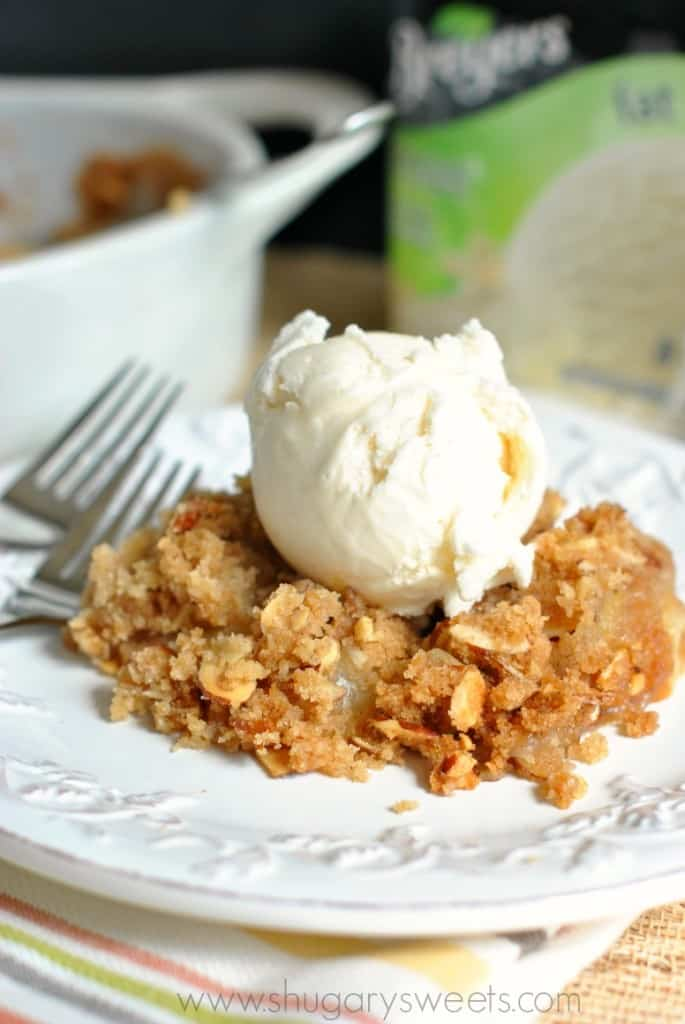 Peach Crisp by Shugary Sweets | Epicurious Community Table