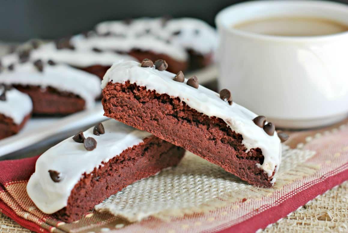 Red Velvet Biscotti - Shugary Sweets