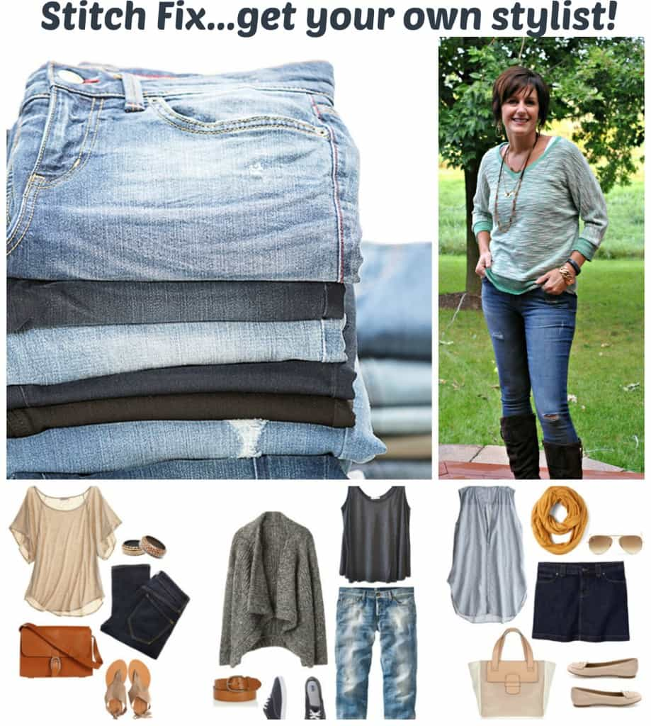 Stitch Fix- have you tried their clothing yet? Get your own stylist! Clothing shipped to your house to try in the comfort of your own room!