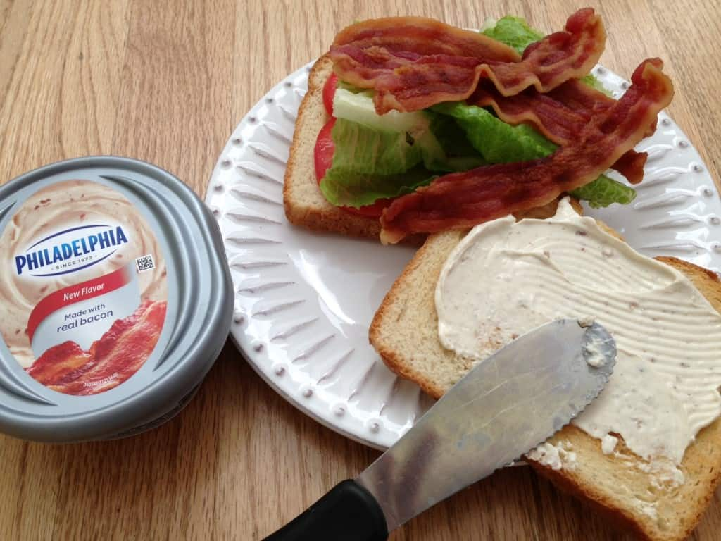PHILADELPHIA Bacon Cream Cheese Spread. So tasty!