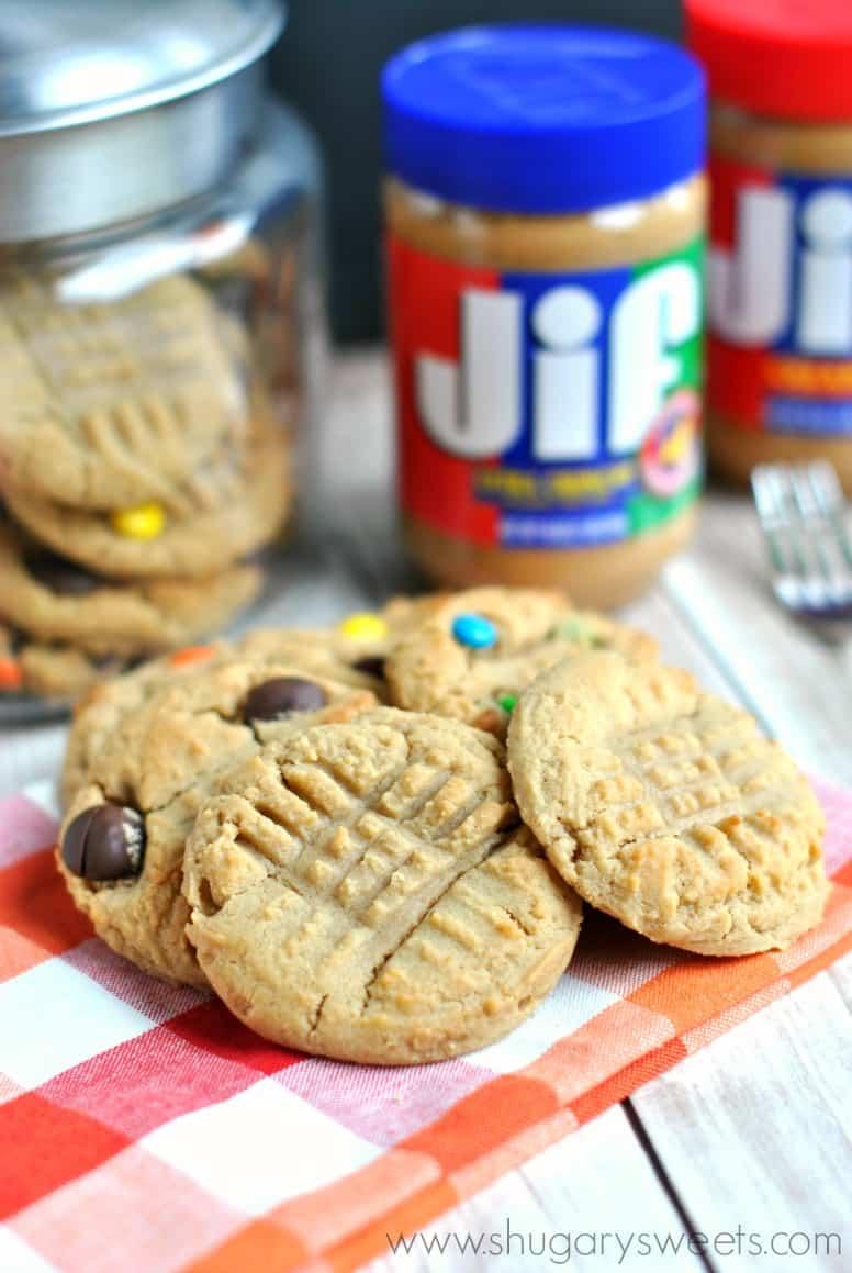 Jif Peanut Butter Cookies Shugary Sweets