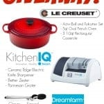 Le Creuset, Kitchen IQ and Dreamfarm Giveaway