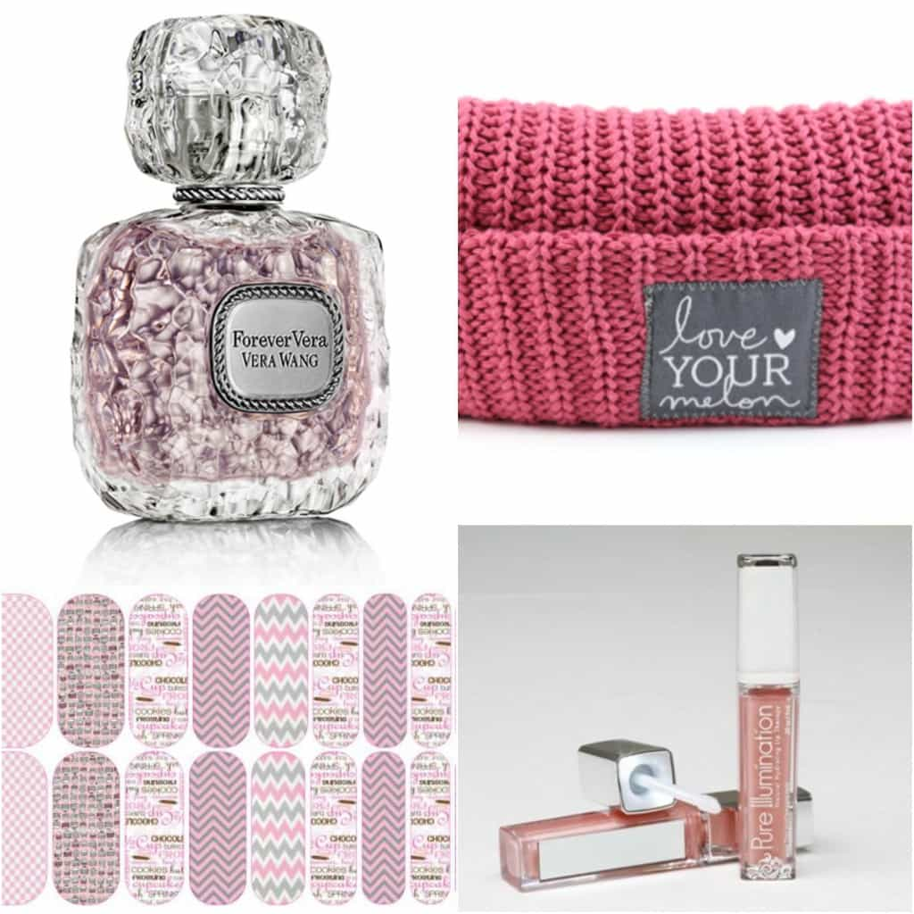 Gift guide for the girls: perfume, Jamberry, Love your melon, lipgloss