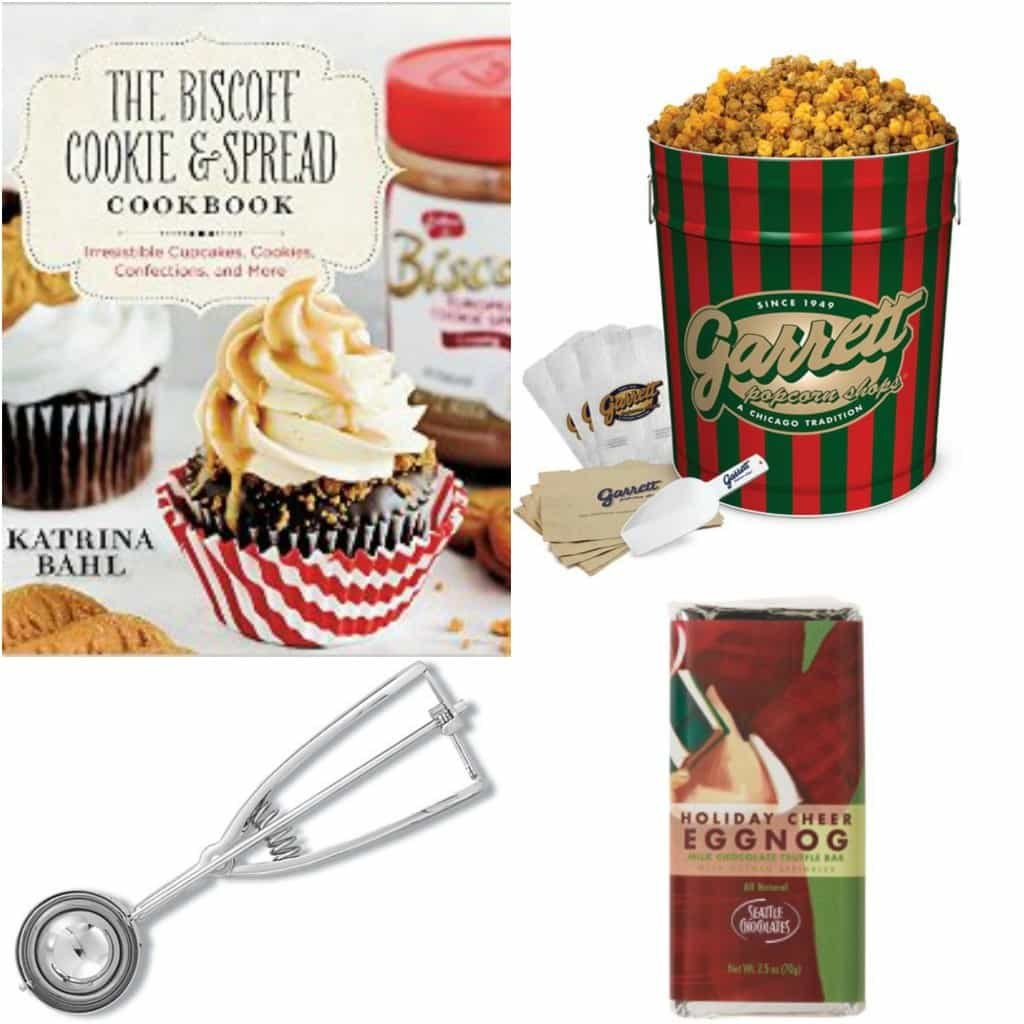 Gift Guide: cookbook, Garrett Popcorn, cookie scoop and Seattle Chocolates!