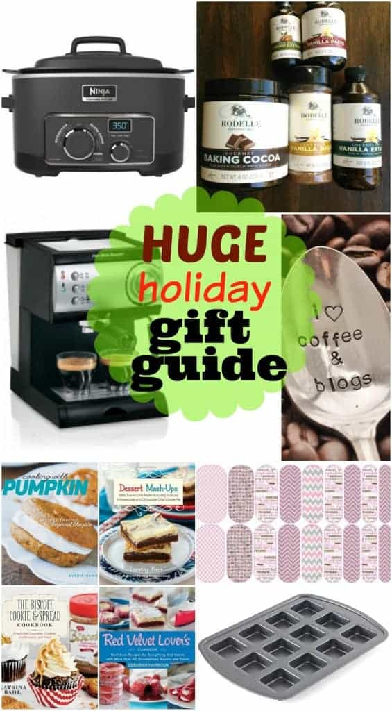 Holiday Gift Guide 2014- great products for the foodie in your life! Or a complete wishlist for yourself!