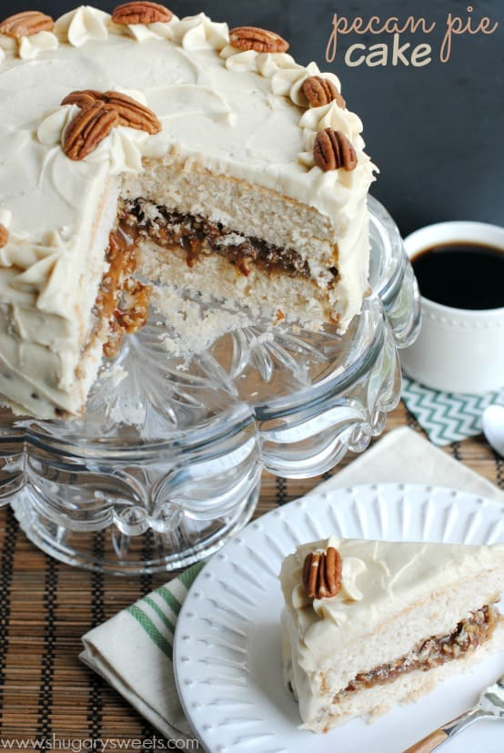 Pecan Spice Layer Cake With Cream Cheese Frosting Recipes — Dishmaps