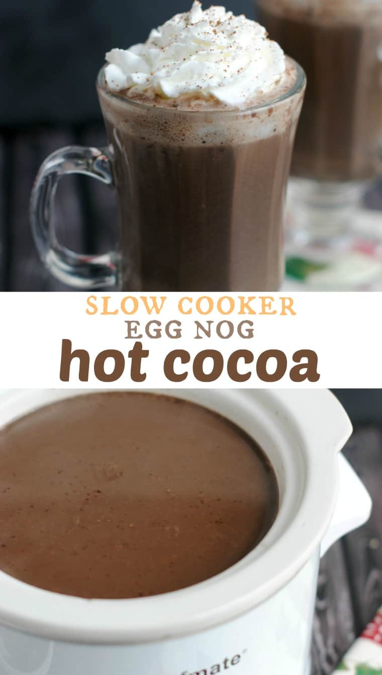 Slow Cooker Egg Nog Hot Cocoa by Shugary Sweets ...