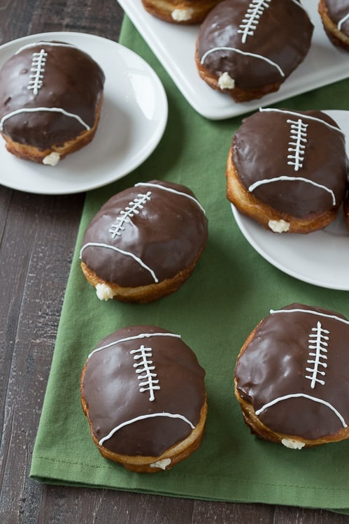 Cream-Filled-Chocolate-Football-Donuts-3