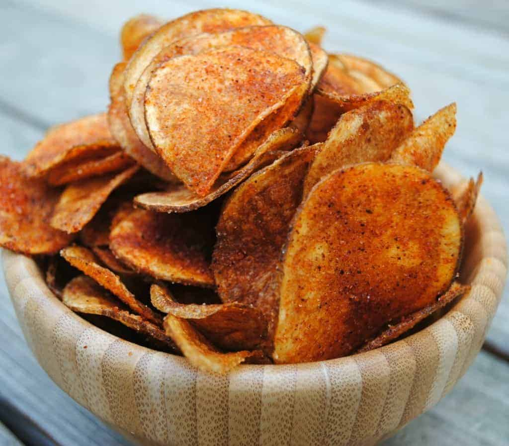 Homemade BBQ Potato Chips are easier than you think with this recipe!