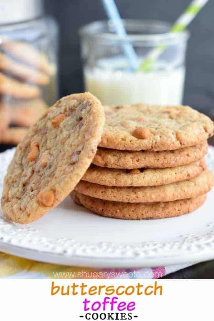 Salty Butterscotch-Toffee Cookies Recipes — Dishmaps