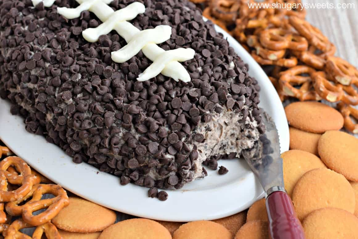 Cookies and Cream Cheese Ball - Shugary Sweets