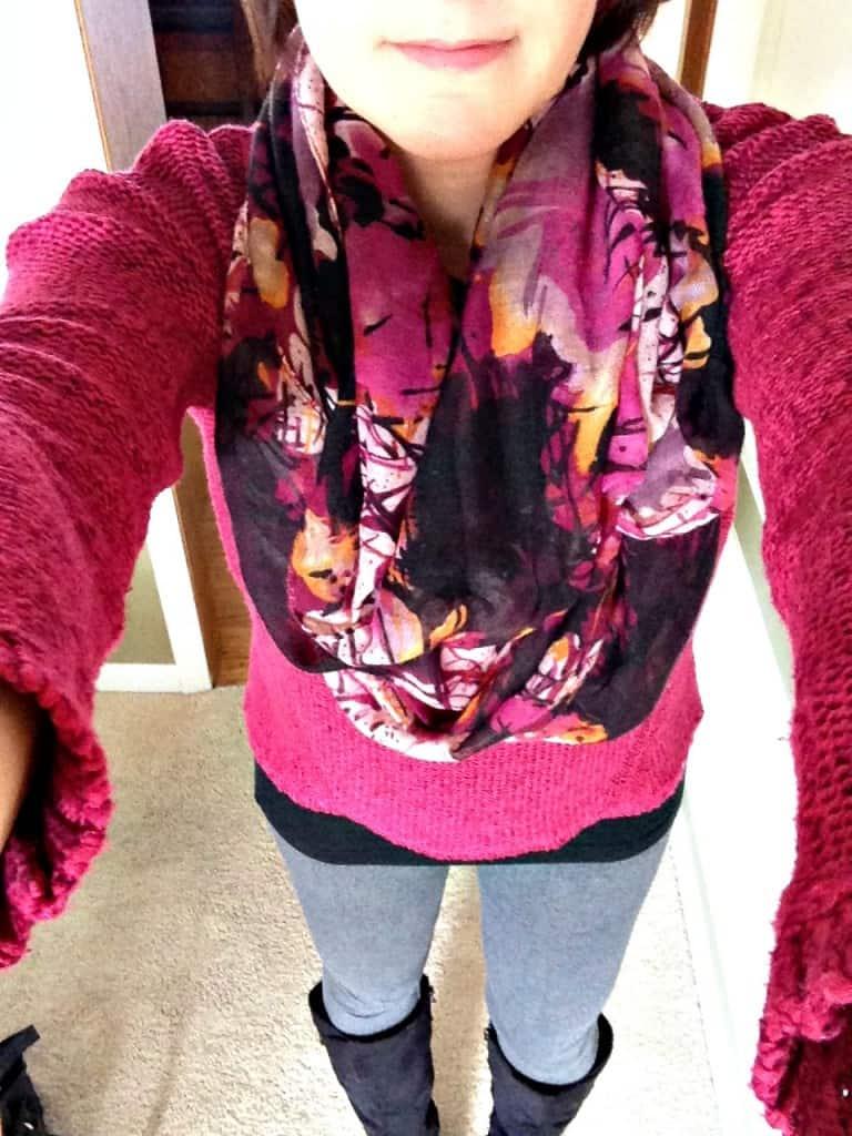 Magenta StitchFix sweater