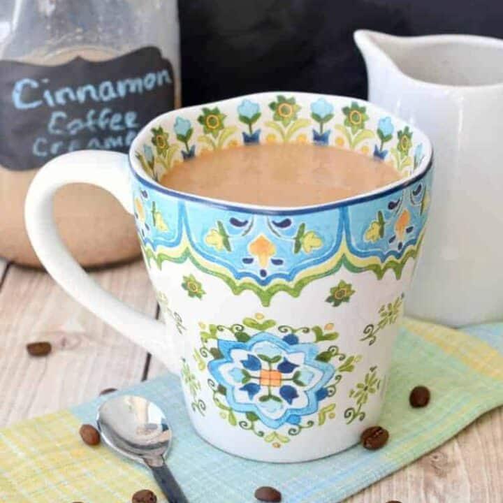 Cinnamon Coffee Creamer