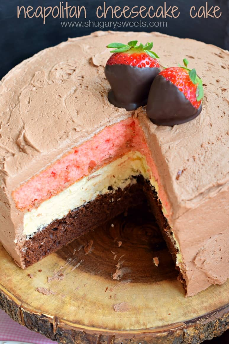 Neapolitan Layer Cake Recipe