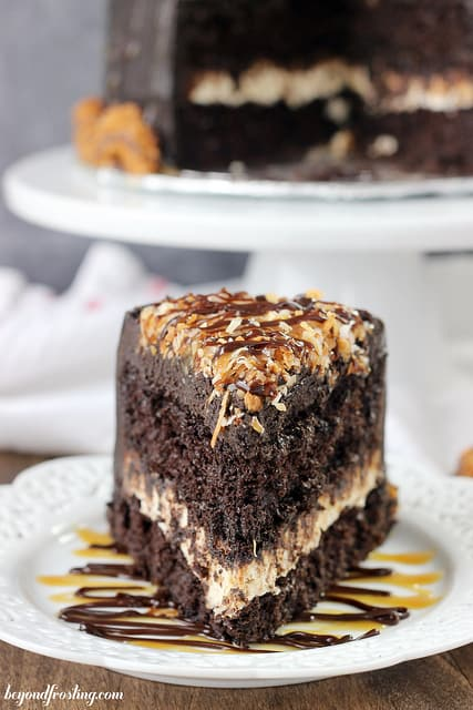 Sinful Samoa Cake from Beyond Frosting