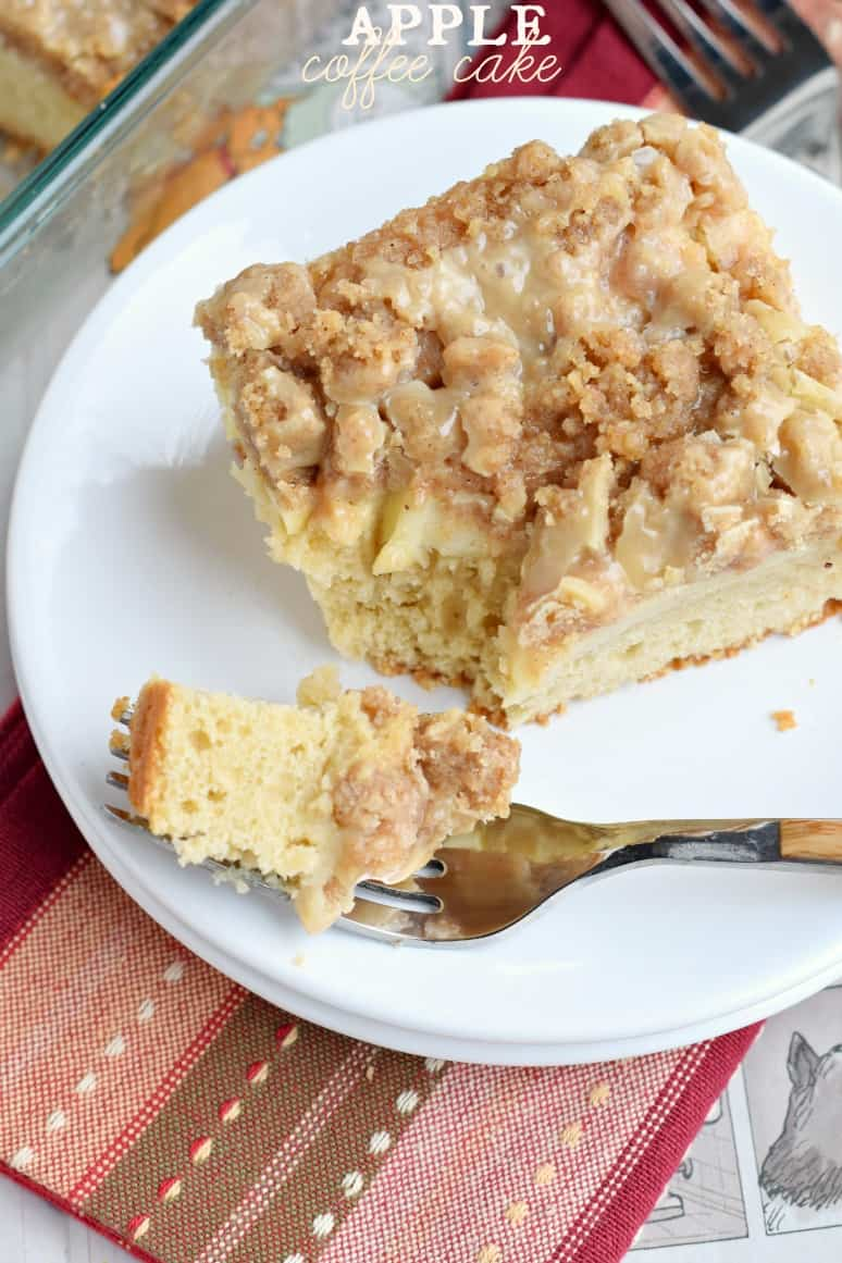 This Apple Coffee cake recipe is perfect for a weekday breakfast and a ...