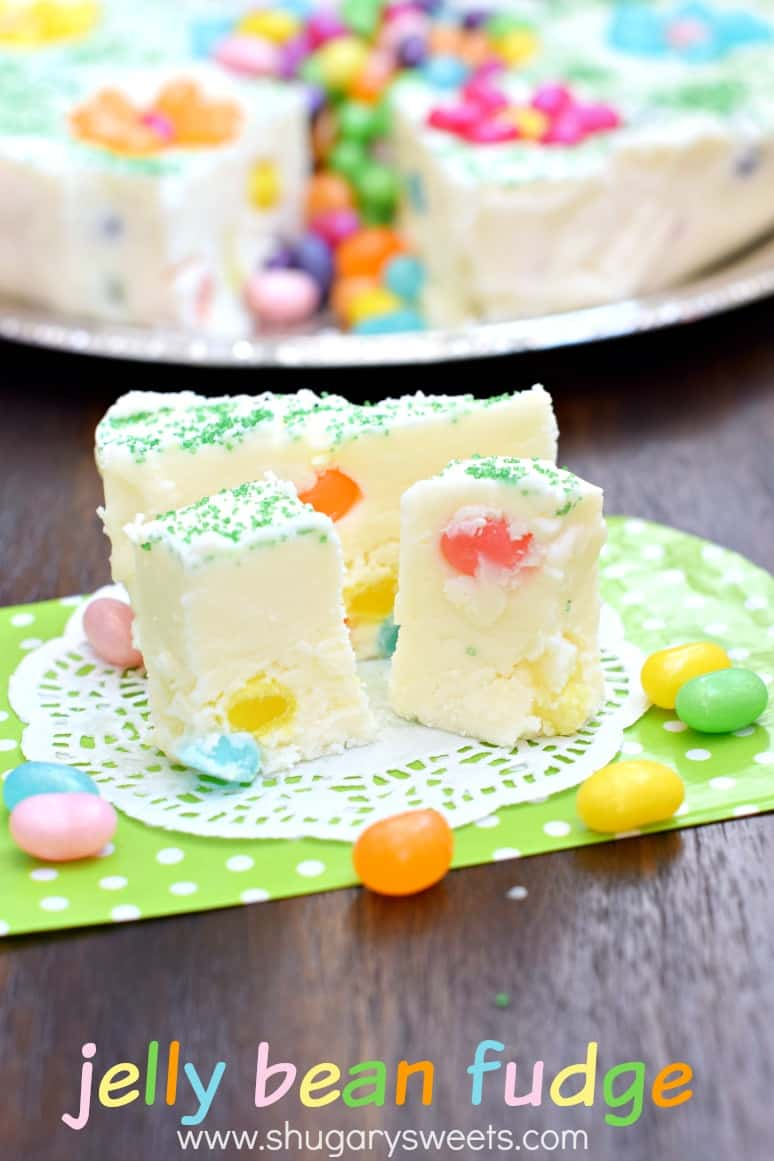 826a54f5d97e Place your fudge ring on a serving plate and fill the center with extra Jelly  Belly® jelly beans. Leave a small knife near the plate