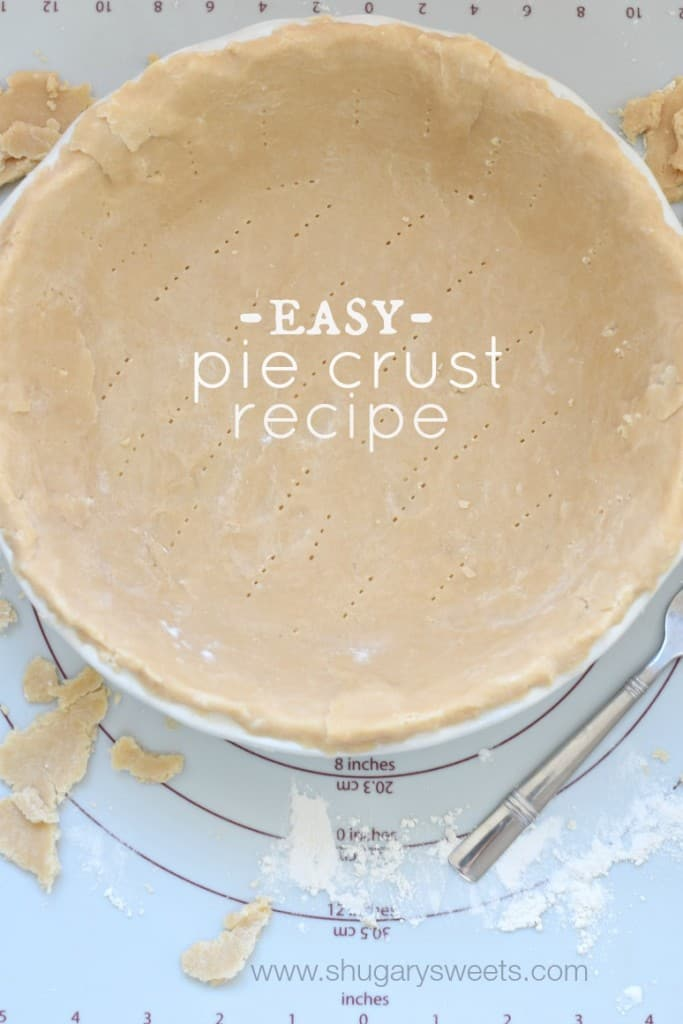 Easy, homemade Pie Crust recipe...if I can do this so can you! #criscoknowspie