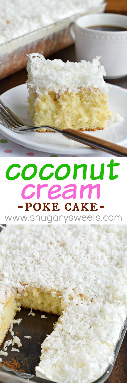 Cake from Inside BruCrew Life Carrot Cake Poke Cake from Something