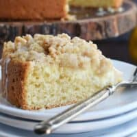 Lemon Crumb Coffee Cake