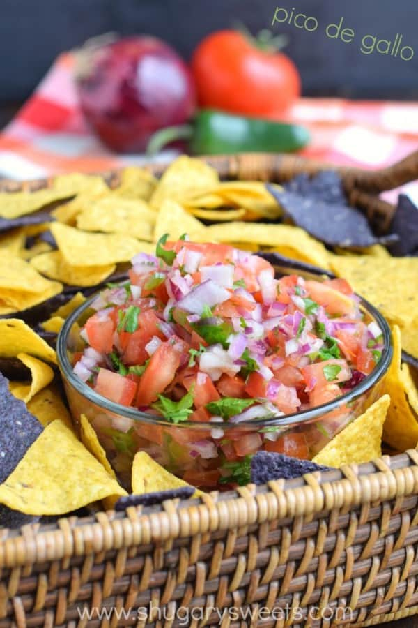 Easy Pico de Gallo recipe for any occasion!