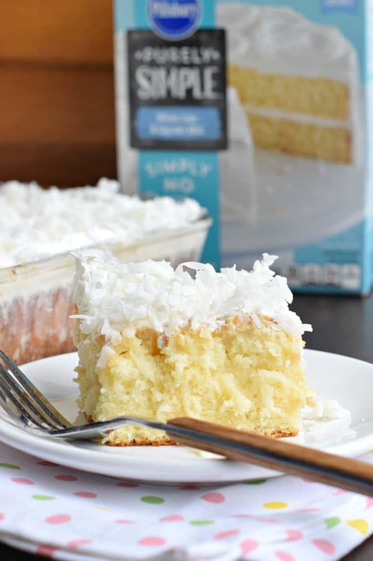 Shugary Sweets: Coconut Cream Poke Cake