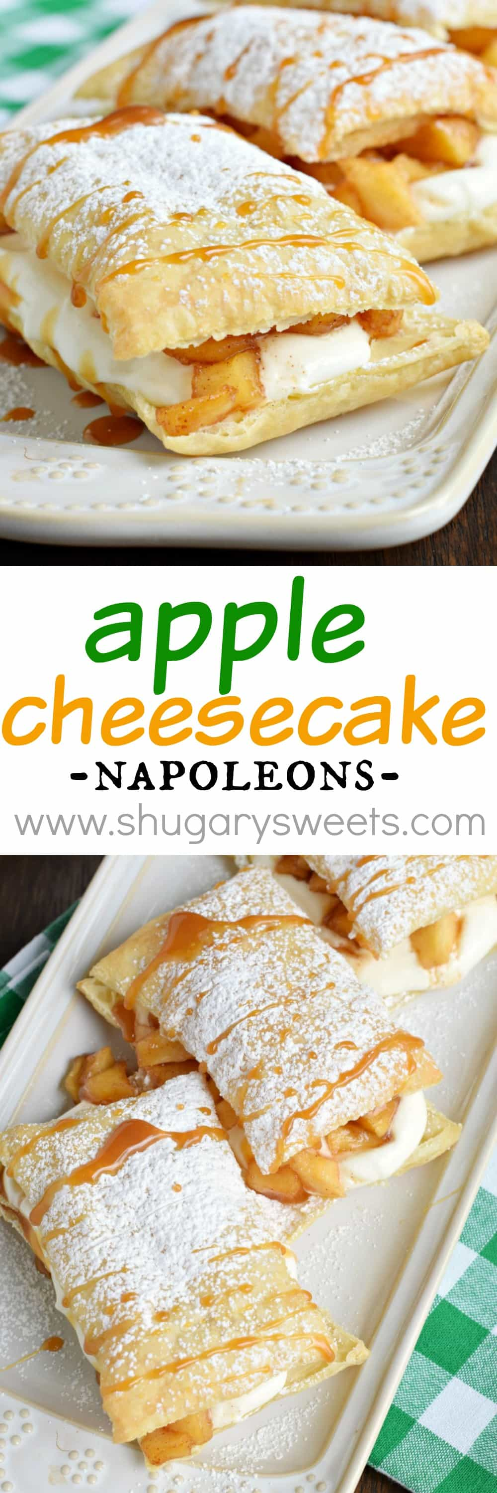 Caramel Apple Cheesecake Napoleons: a delicious, quick comfort food ...