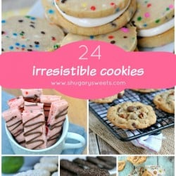 24 Irresistible Cookie Recipes on www.shugarysweets.com