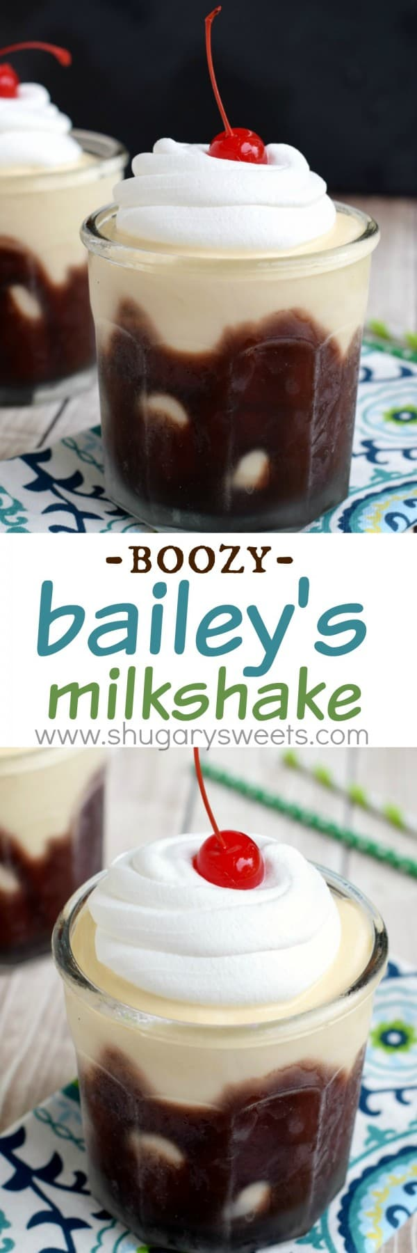 The Perfect Tan: a boozy Baileys Irish Cream milkshake perfect for a hot summer day!