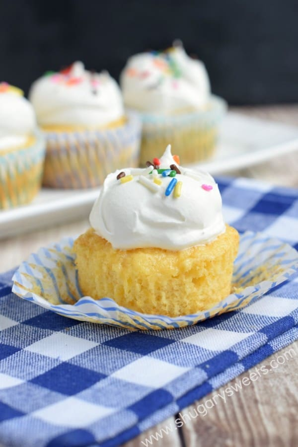 Skinny Coconut Cupcakes Recipe — Dishmaps