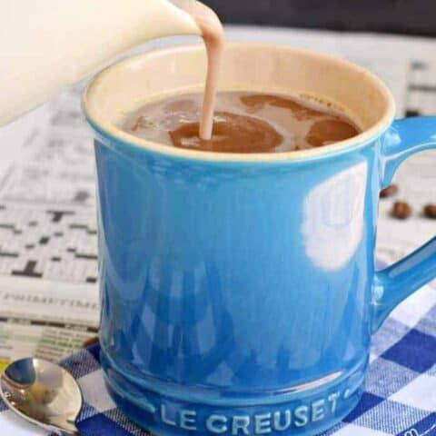 Chocolate Marshmallow Coffee Creamer