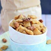 Nutty Caramel Snack Mix
