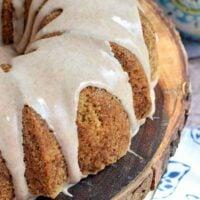 The Best Zucchini Bundt Cake with Cinnamon Glaze Recipe