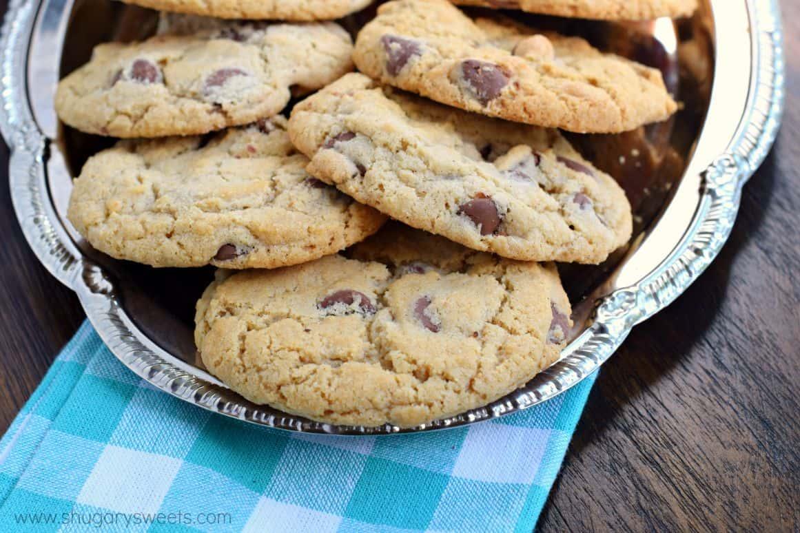 Recipe crispy chocolate chip cookies