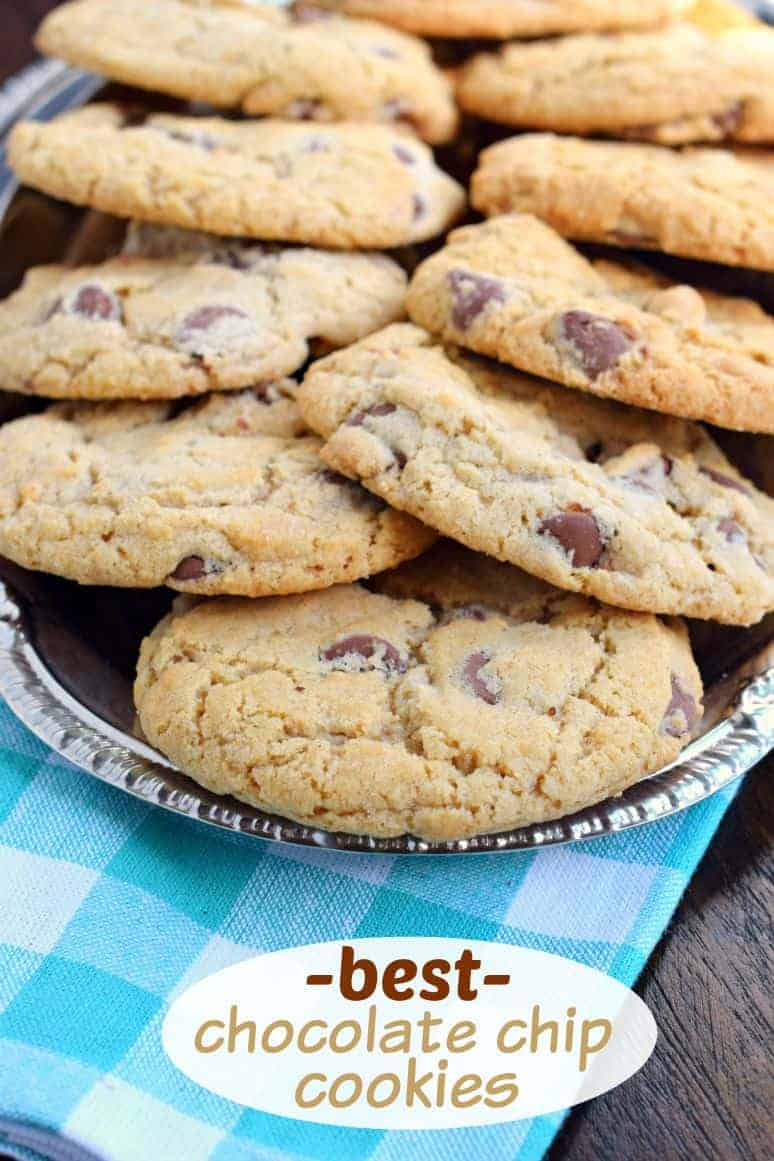 Perfect Chocolate Chip Cookies - Shugary Sweets