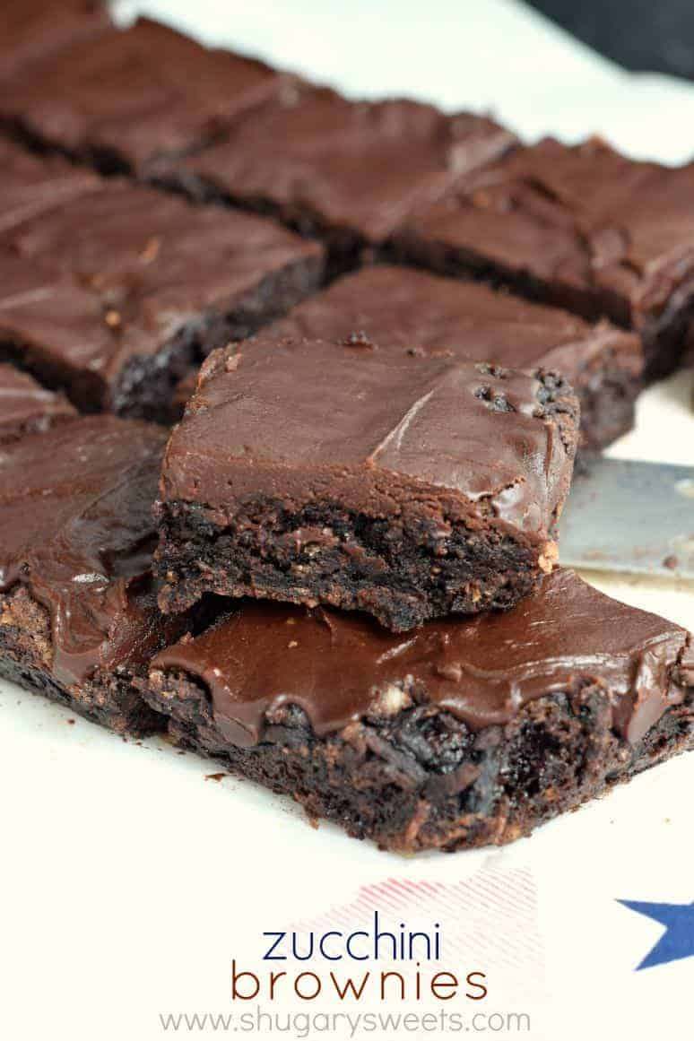 Chocolate and brownies