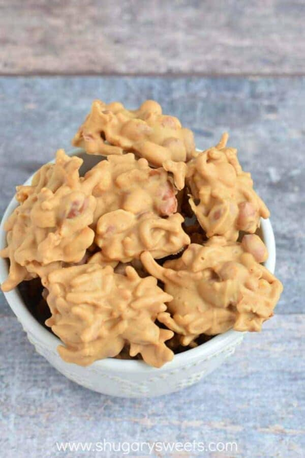 No Bake Haystack Cookies are just the thing to satisfy your intense sweet tooth cravings. It's the ideal recipe for little hands to help, too!