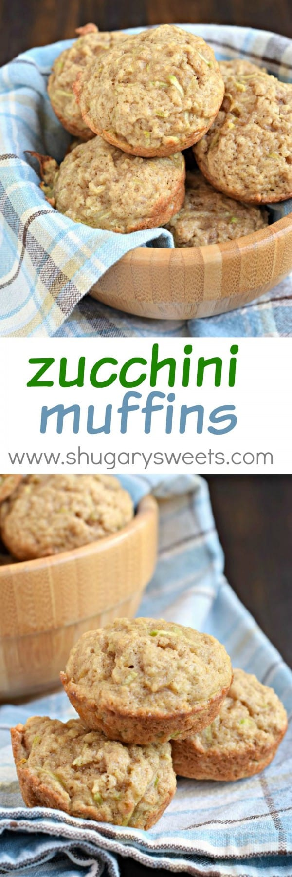 Zucchini Muffins: these easy muffins are a huge hit in our family. So much flavor packed into every bite!