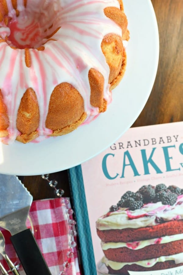Cherry 7 Up Pound cake from Grandbaby cakes cookbook