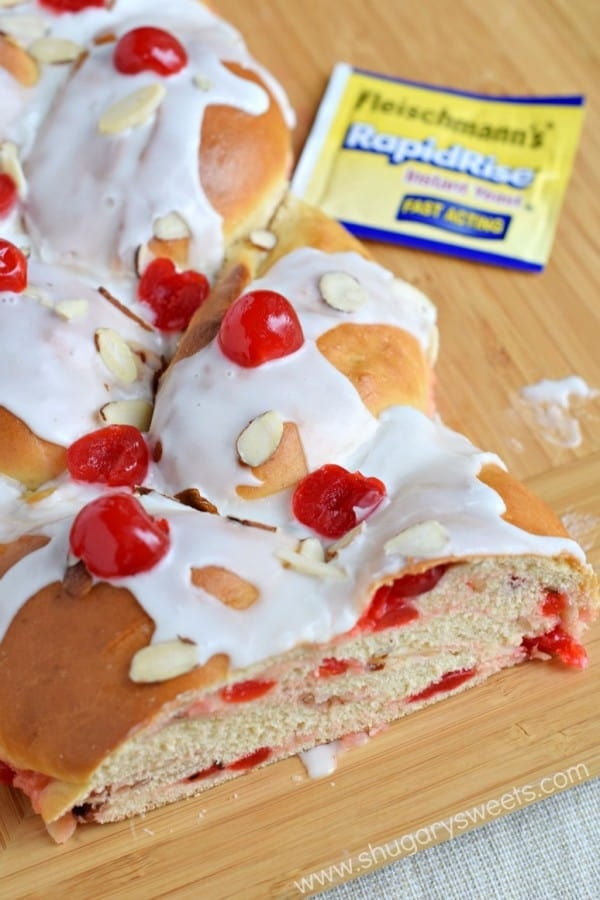Adding this sweet Cherry Almond Braid recipe to your breakfast menu this season is a must!!
