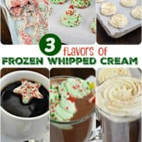 Frozen Whipped Cream Topping