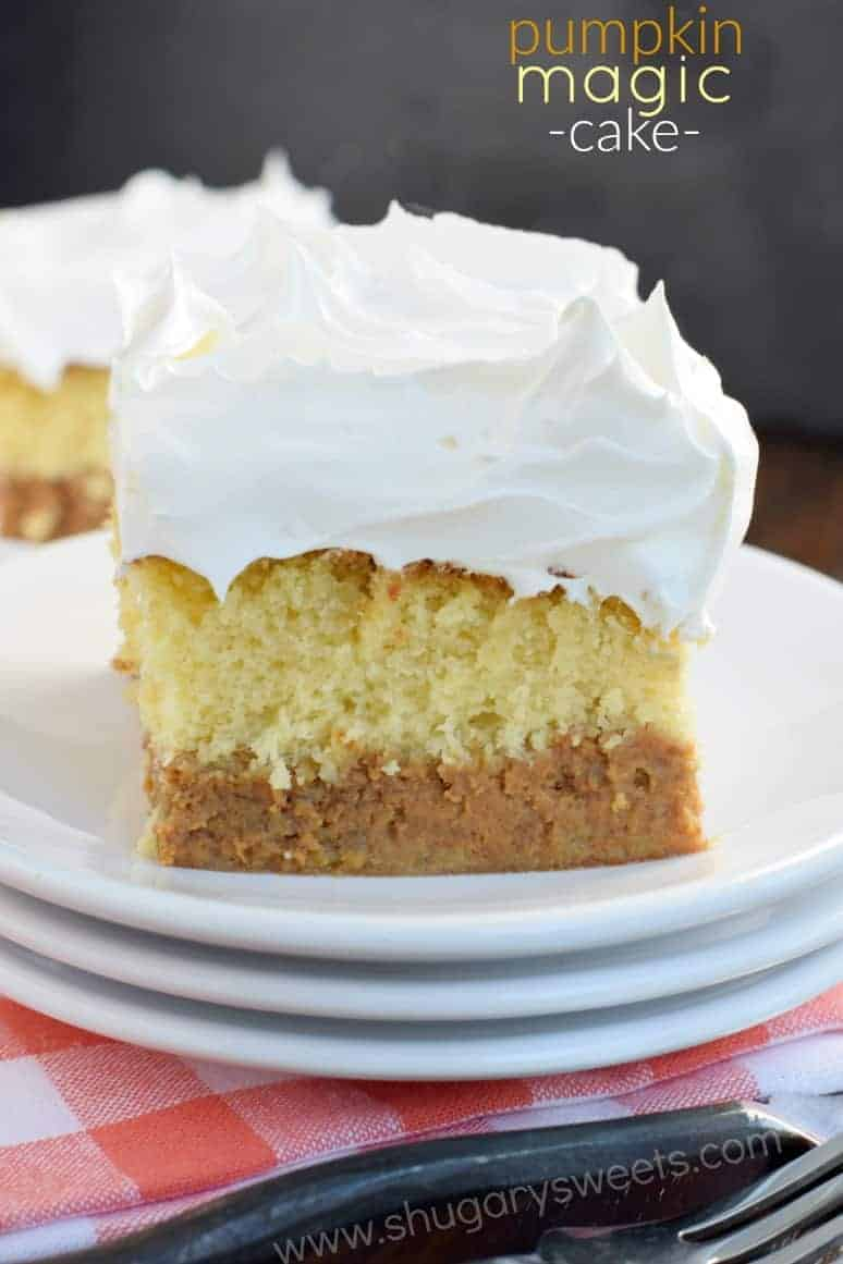 Box Cake Recipes With Pumpkin