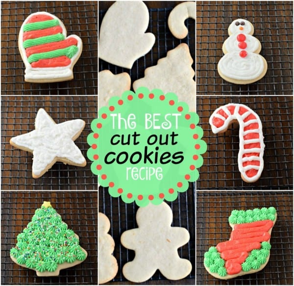 Looking for the BEST sugar cookie cut out recipe? These Cream Cheese Sugar Cookies are so flavorful and they always hold their shape. Don't forget to add the delicious Vanilla Bean Frosting too! #christmascookies #cutoutcookies #christmasfood #christmasbaking #recipe