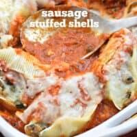 Sausage Stuffed Shells