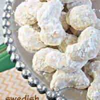 Swedish Heirloom Cookies
