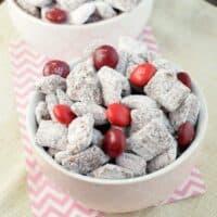 Chocolate Cherry Muddy Buddies