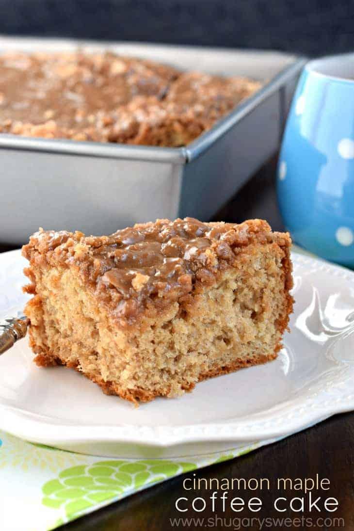Shugary Sweets: Cinnamon Maple Coffee Cake