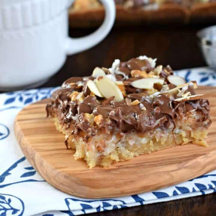 Coconut Almond Bars