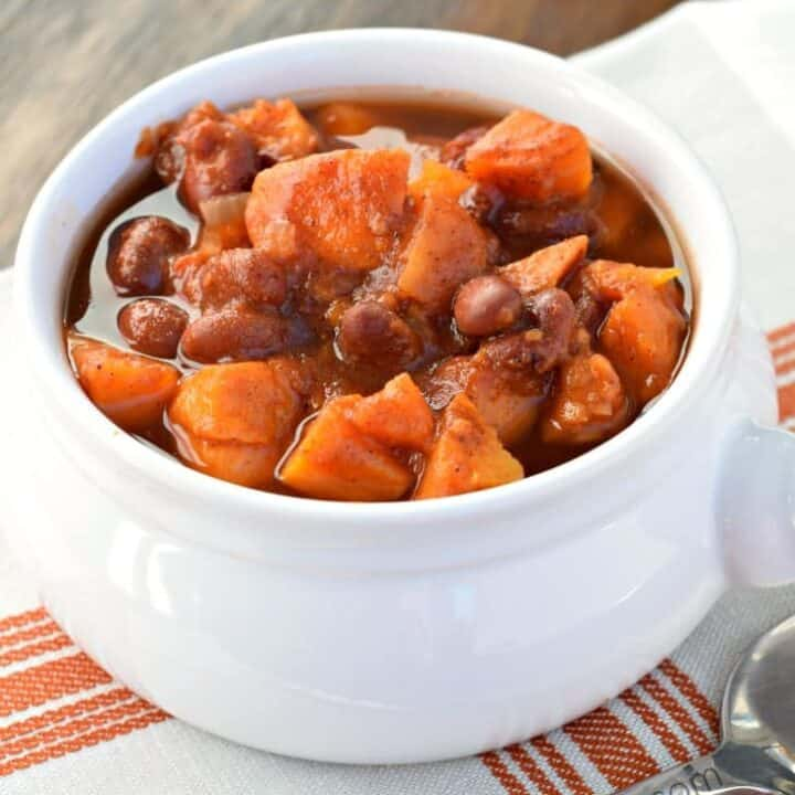 Smoky Sweet Potato Chili