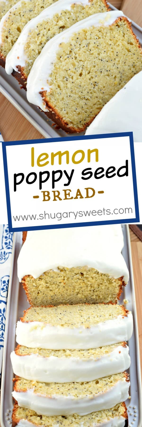 Poppy Seed Bread With Lemon Curd Recipe — Dishmaps